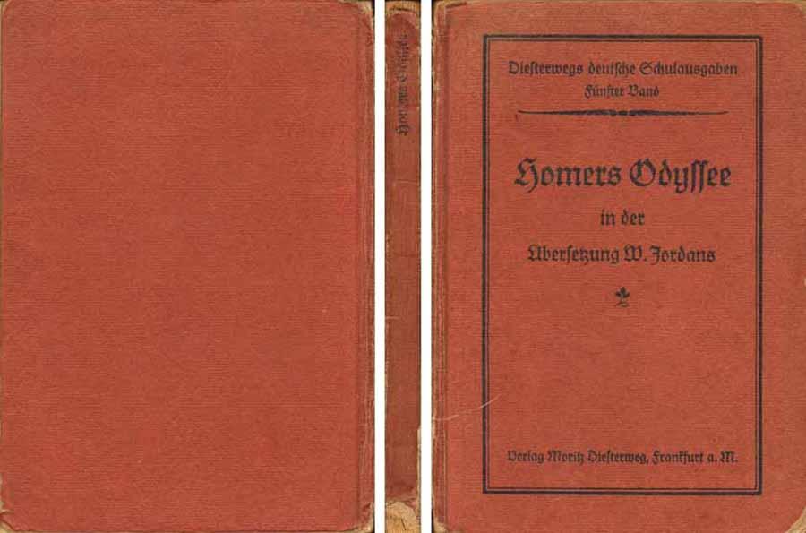 Buch - Diesterwegs Deutsche Schulausgaben - 5. Band - Homers Odyssee - 1927 bei Hood.de